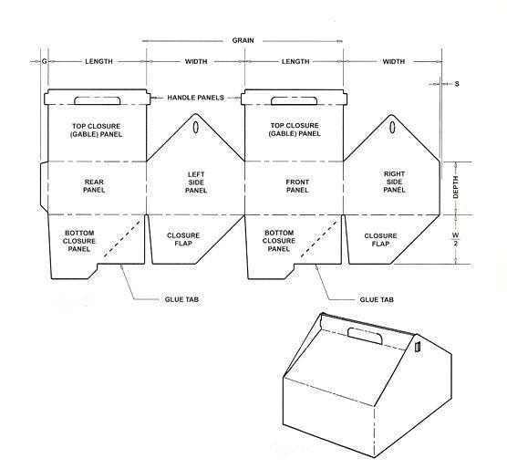 carton box template i ❤ crafts - giftboxes Pinterest Box - box template