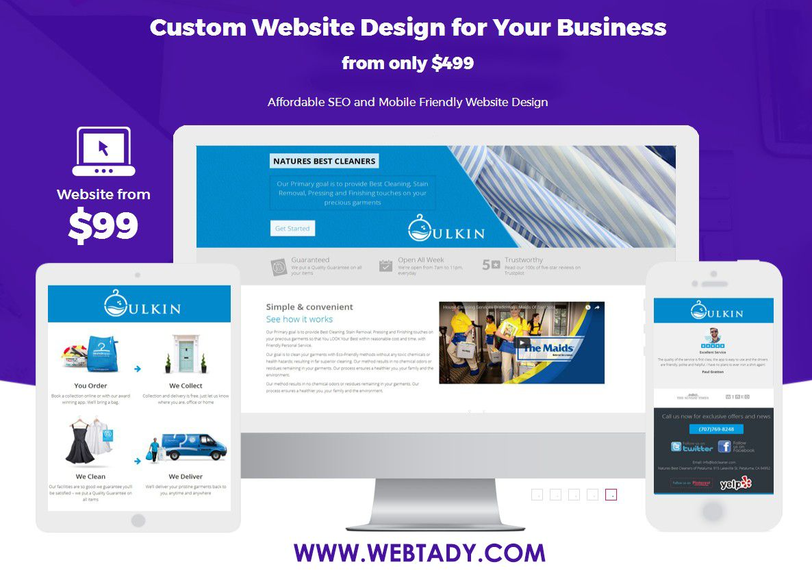 Follow Webtady If You Like To Create A Custom Website For Your Small Business Li Small Business Website Design Small Business Website Custom Website Design