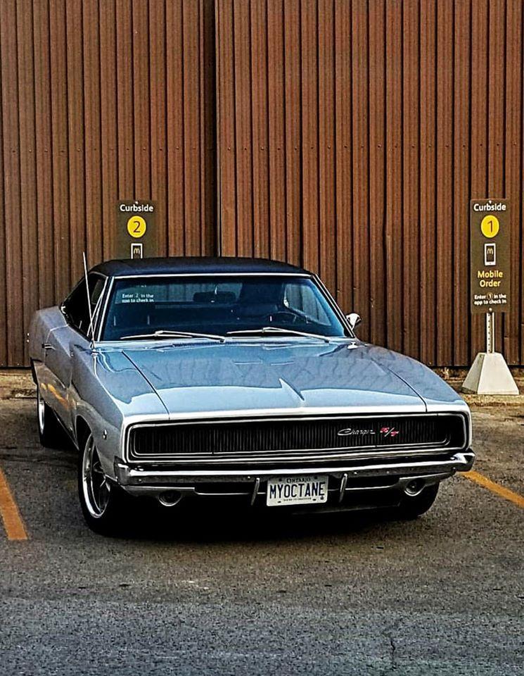1968 Dodge Charger RT 440 V8 Mopar Muscle Car