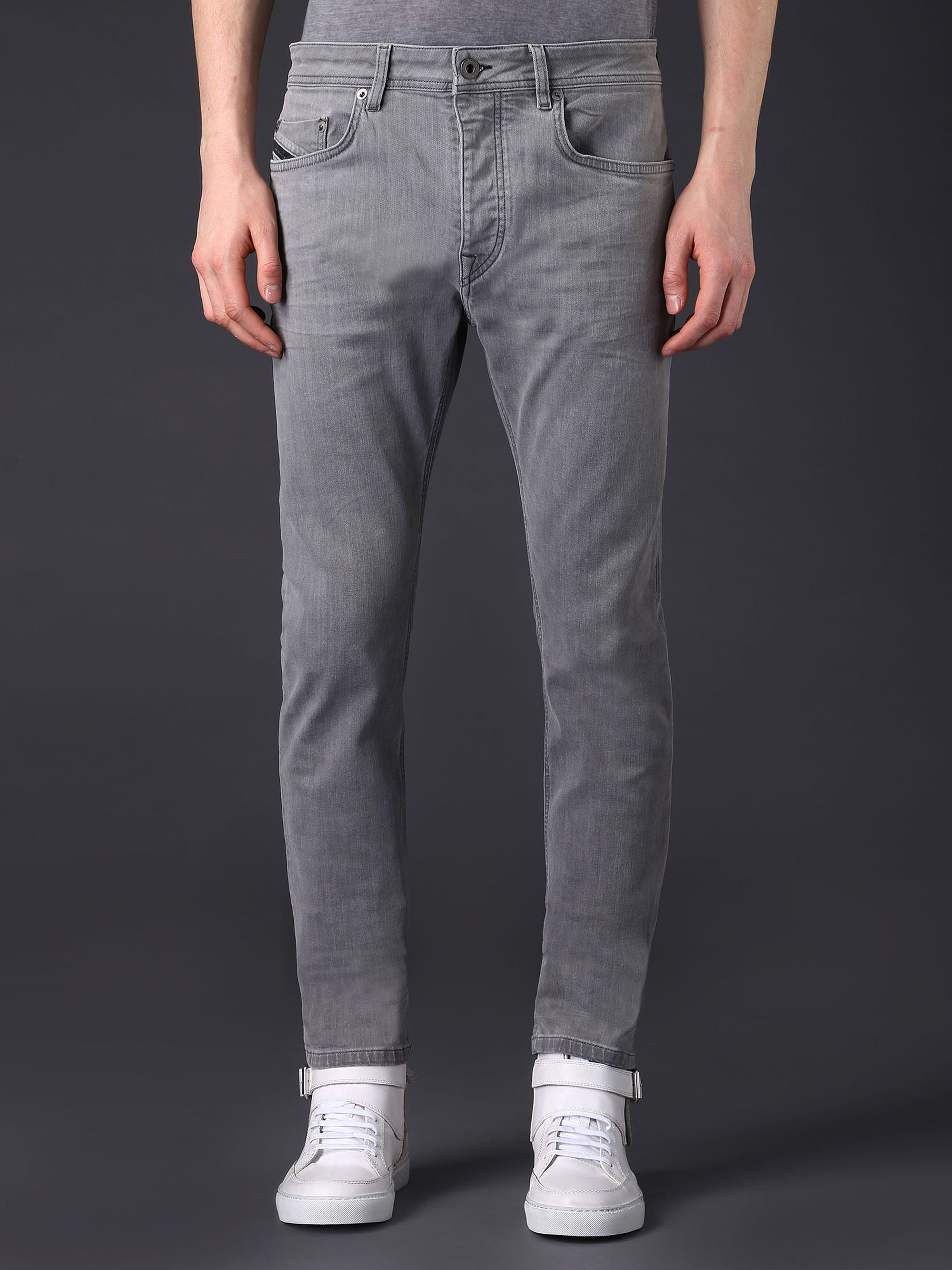Diesel Black Gold TYPE-2512 Stretch Denim Jeans in Grey Jeans from ...
