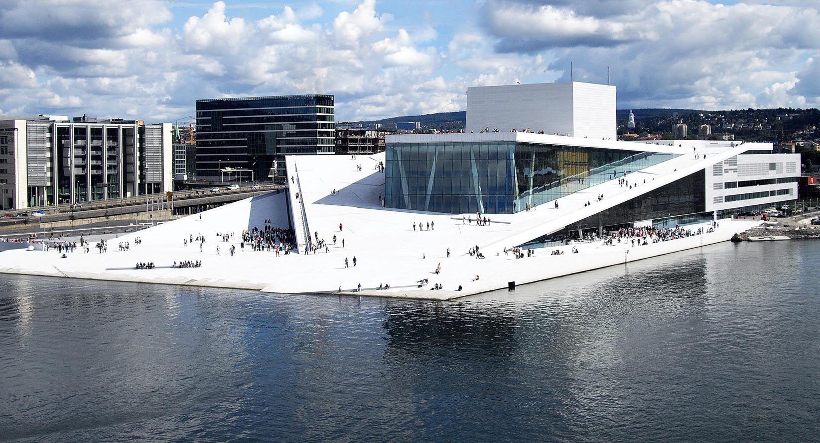 Oslo Opera House Cultural Architecture Opernhaus