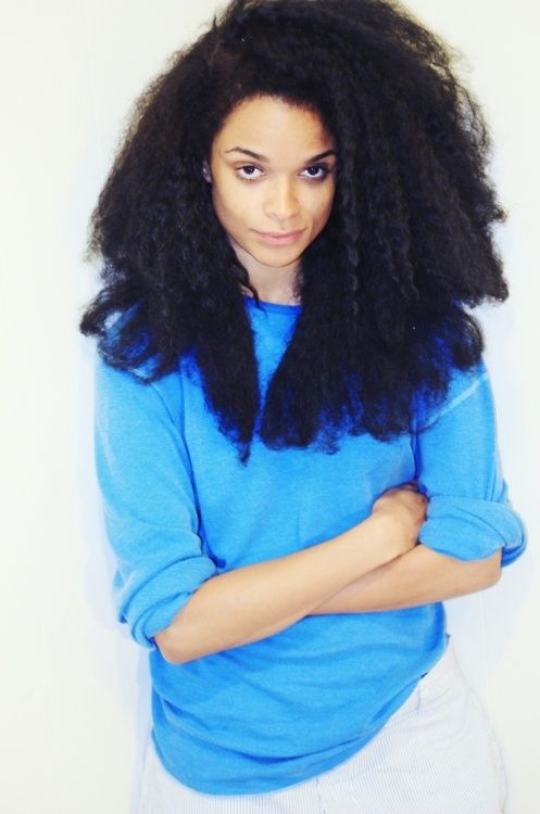 long natural hair - To learn how to grow your hair longer click here - http://blackhair.cc/1jSY2ux