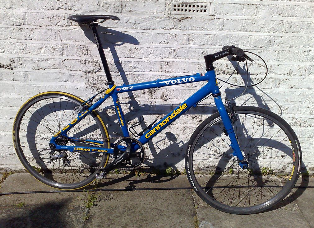 212688112bb Blue Cannondale m1000 - bought this to replace the Fisher from a friend  when we worked