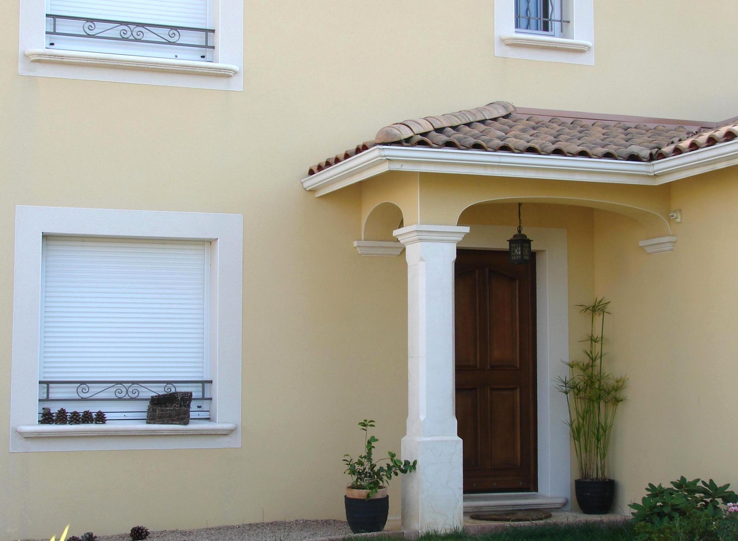 pilier pour loggia et terrasse en