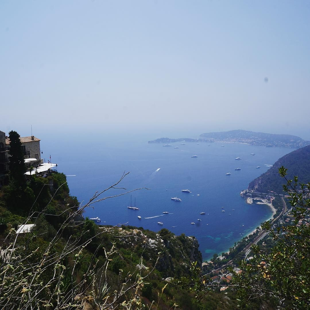 Eze Village Views Eze Nice France Frenchriviera Natural Landmarks French Riviera Village