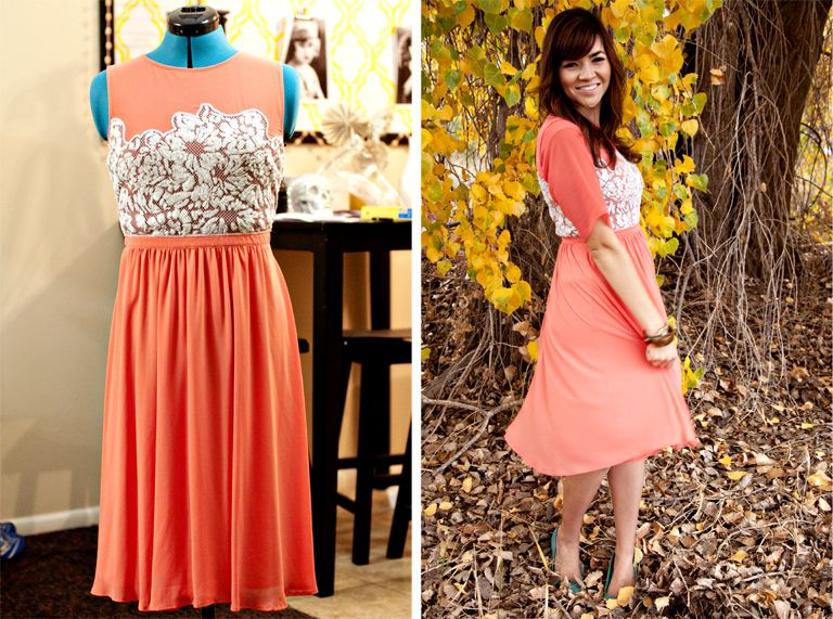 b2f5d74d261a4 Wearing It On My Sleeves  DIY  Adding Sleeves to a Sleeveless Dress ...
