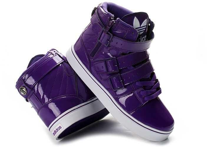 Adidas High Tops Originals Mens Shoes Shine Purple Adidas