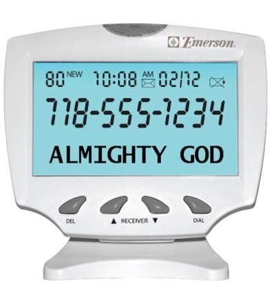 Friday January 16 Almighty God