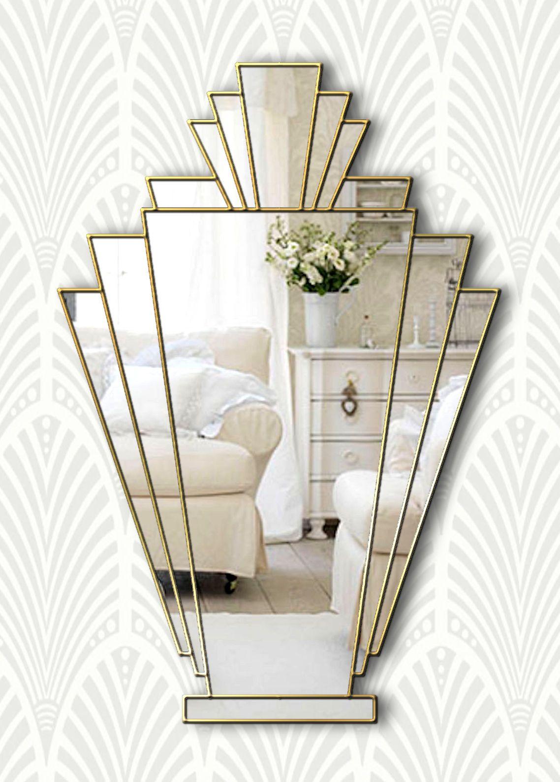 Pin On Art Deco Fan Mirrors [ 1588 x 1138 Pixel ]
