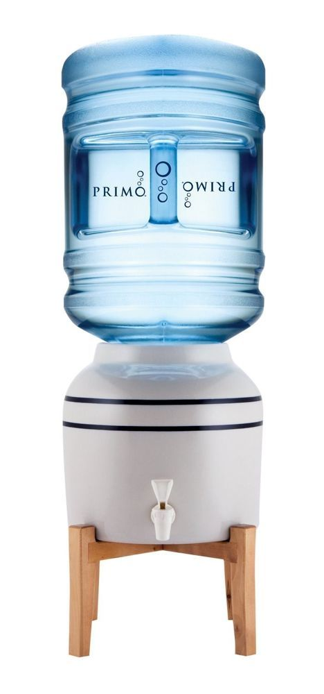 Primo Pioneer Ceramic Water Dispenser With Stand Fits 3 5 Gallon Bottles Countertop Water Dispenser Water Dispenser Water Coolers