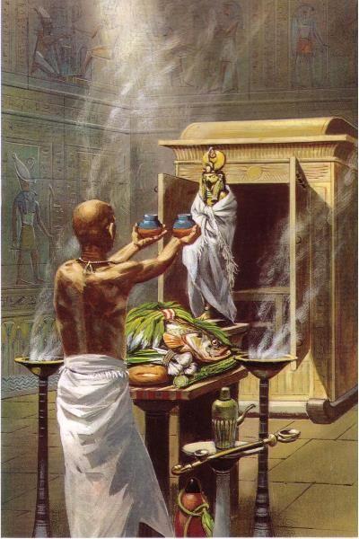 La Journee D Un Pretre Dans L Egypte Antique Egypte Egypte Antique Dieux Egyptiens