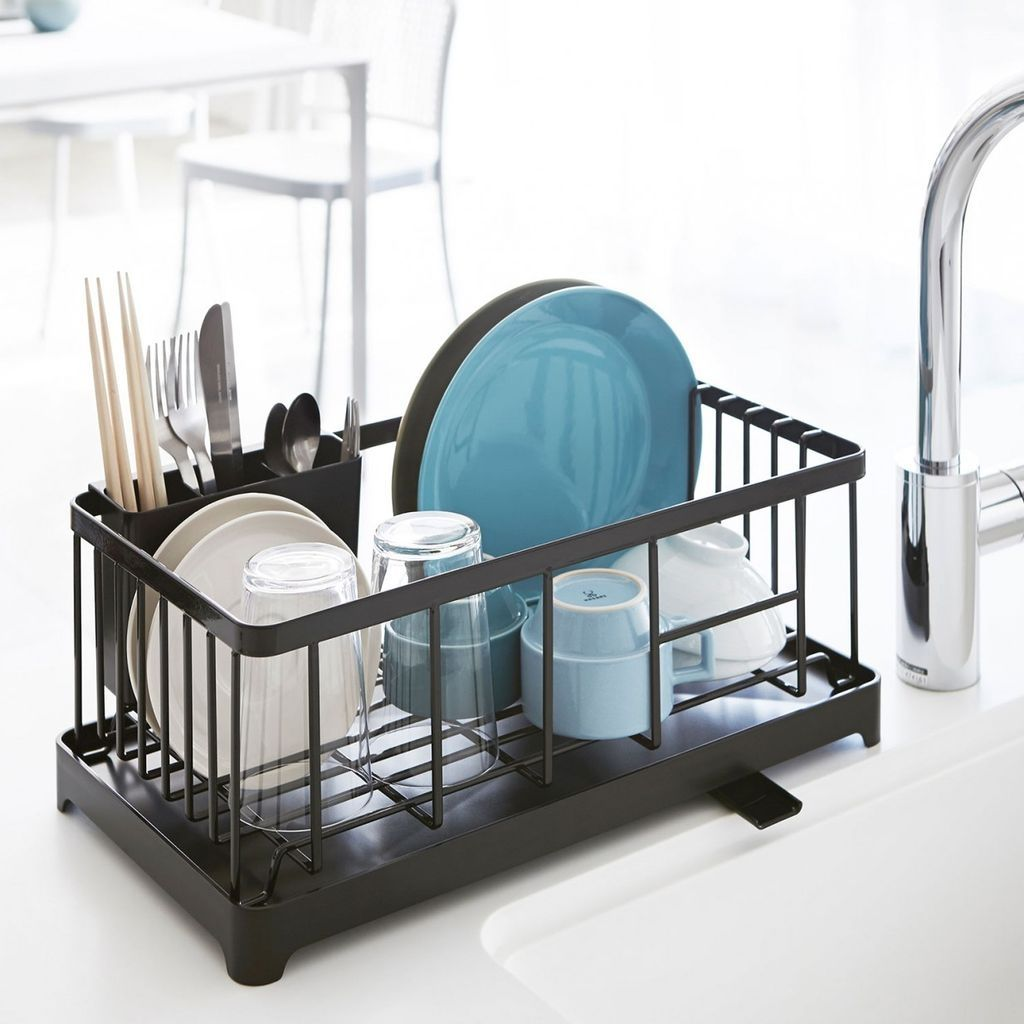 Cool 99 Small And Creative Dish Racks And Drainers Ideas. More at ...