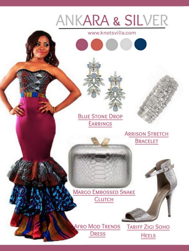 African Dress for a Formal Wedding