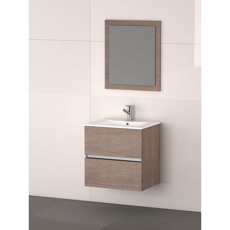 Eviva Ikaro 24 Oak Bathroom Vanity Modern Bathroom Small