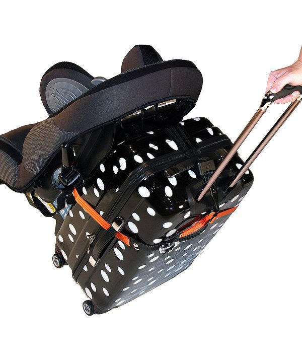 Take a look at this Orange Car Seat Luggage Strap on zulily today!