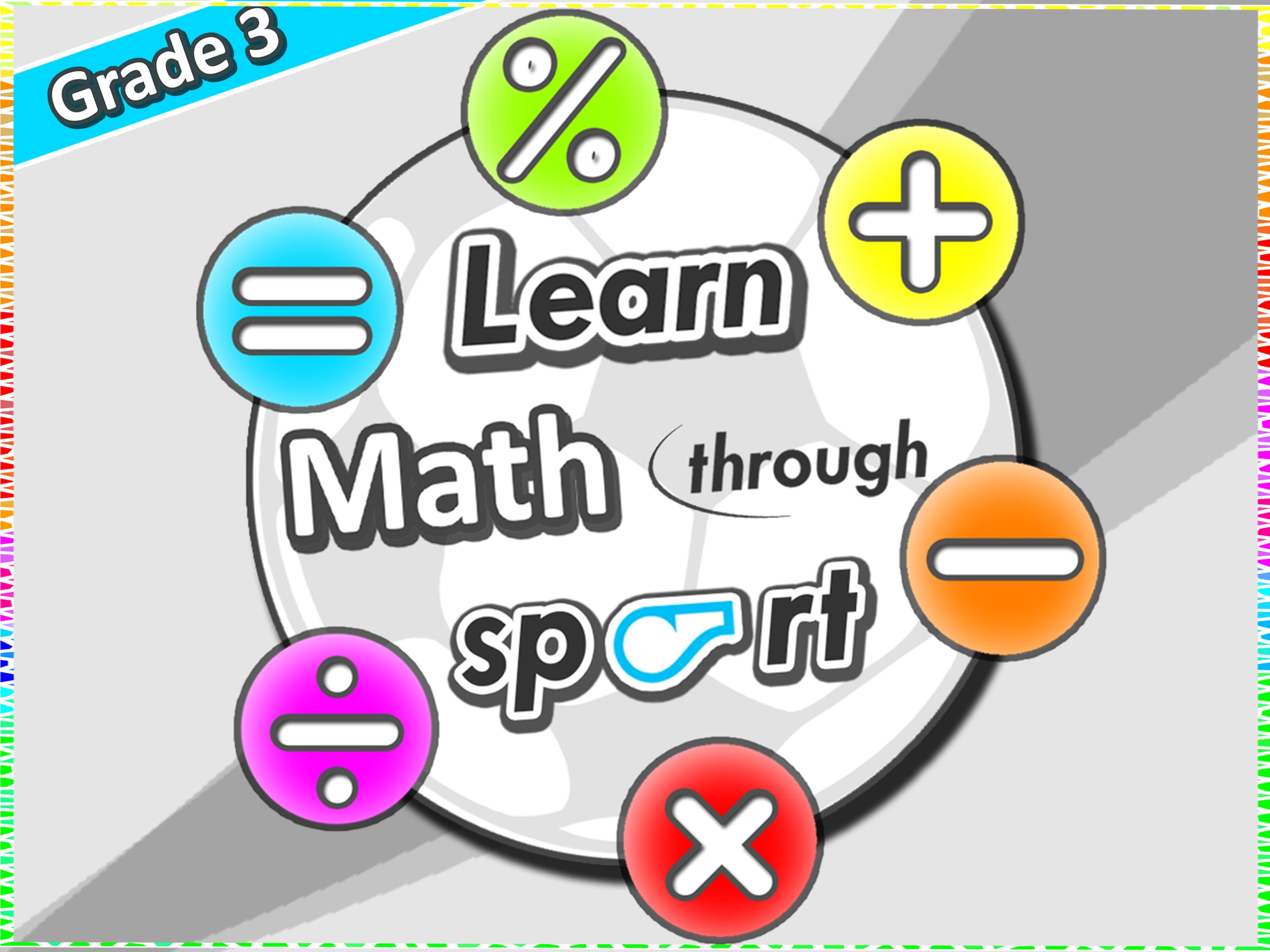 Learn Math Through Sport Grade 3 Pe Games Worksheets