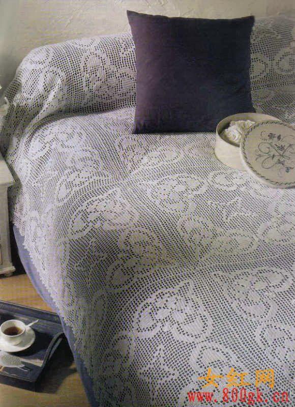 crochet couvre lits plaids dessus de lits au crochet pinterest couvre lit couvre et lits. Black Bedroom Furniture Sets. Home Design Ideas