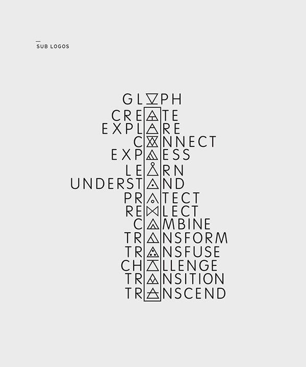 Glyph On Behance Explore Tatttssss Pinterest Behance