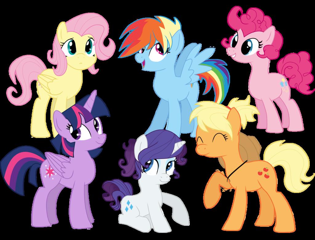 little pony short hair