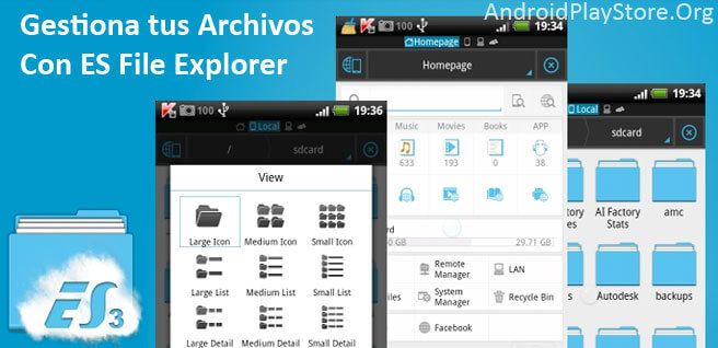 es filexplorer http://androidplaystore.org/productividad/219/es-file-explorer-android/ #android #apps #appsgratis