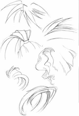 How to draw Hair. - manga university