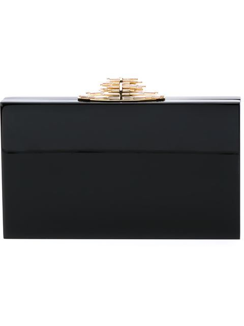 Shop Charlotte Olympia 'Decorative Pandora' clutch in Biondini Paris from the world's best independent boutiques at farfetch.com. Shop 300 boutiques at one address.