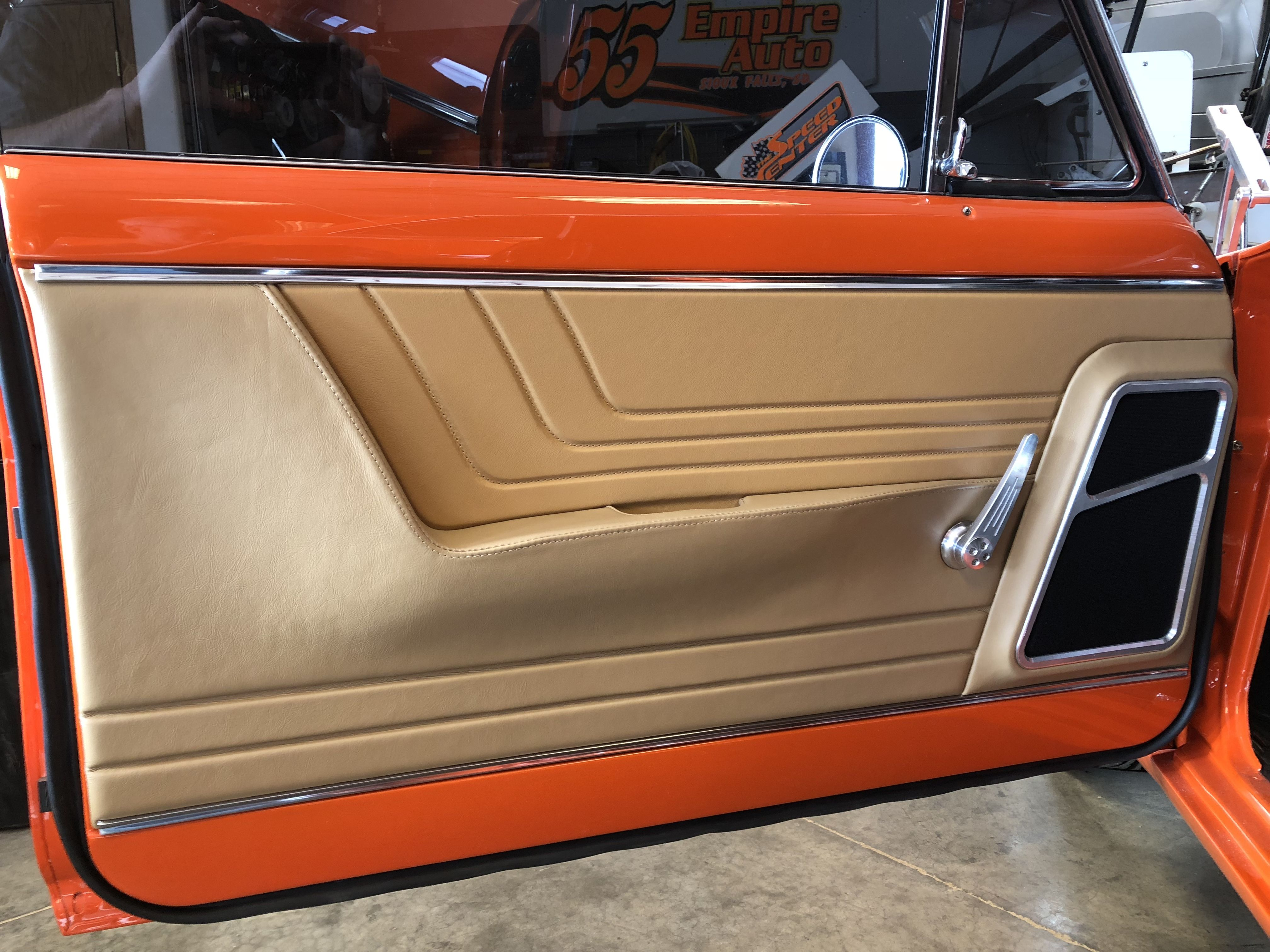 1965 Nova Door Panel Automotive Upholstery Custom Car Interior Car Interior
