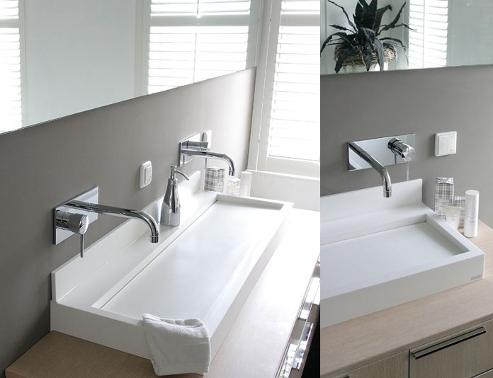 Marike | Badkamer | Pinterest | Basin, Bathroom basin and Corian