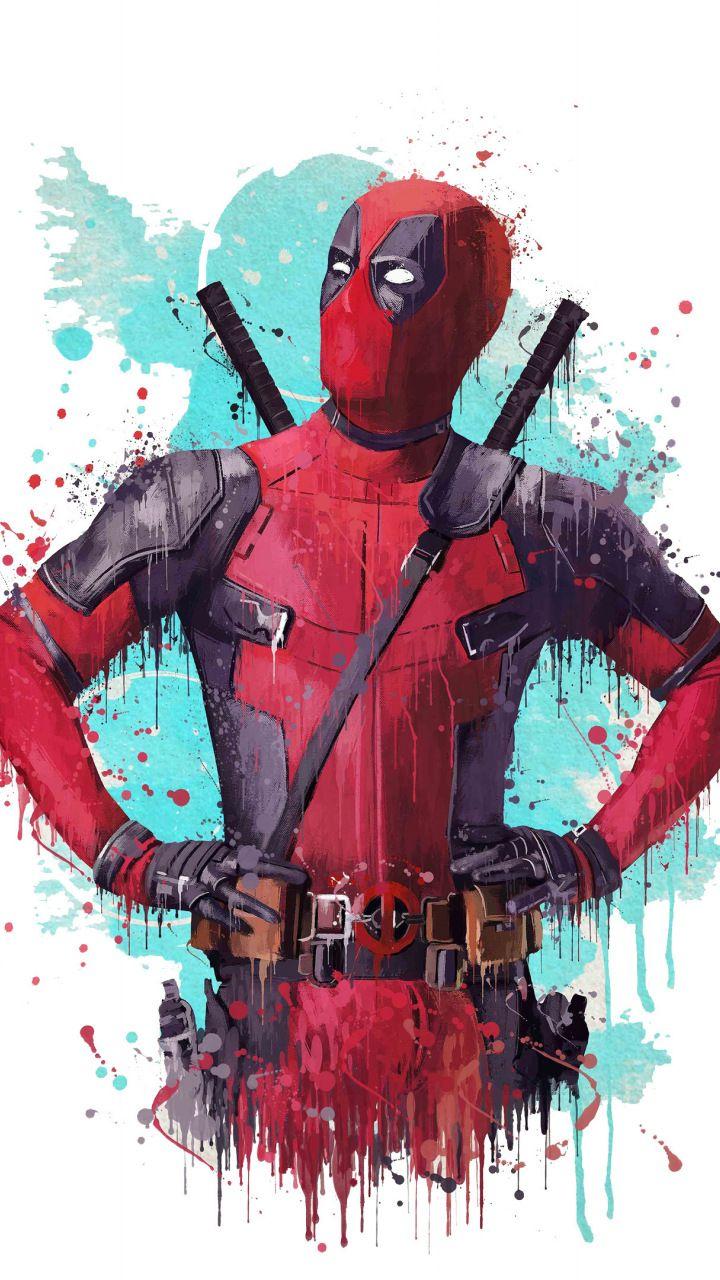 Download 720x1280 Wallpaper Deadpool 2 2018 Movie Fan Artwork