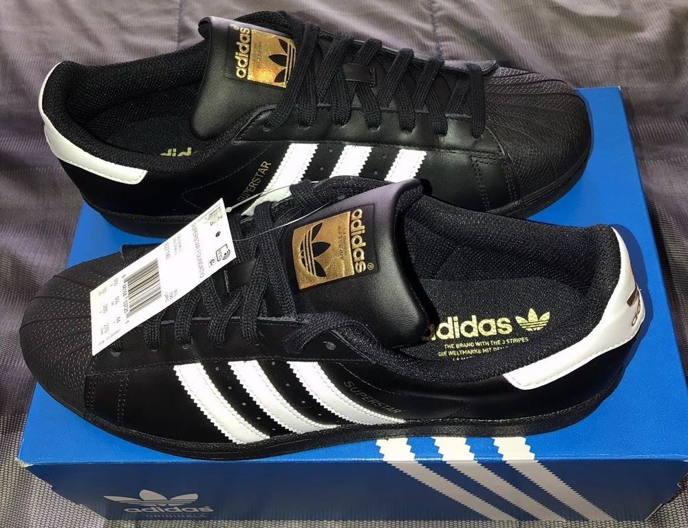 reputable site f0ad3 cb960 ADIDAS ORIGINALS SUPERSTAR FOUNDATION MENS SHOE SIZE 10 fashion clothing  shoes accessories