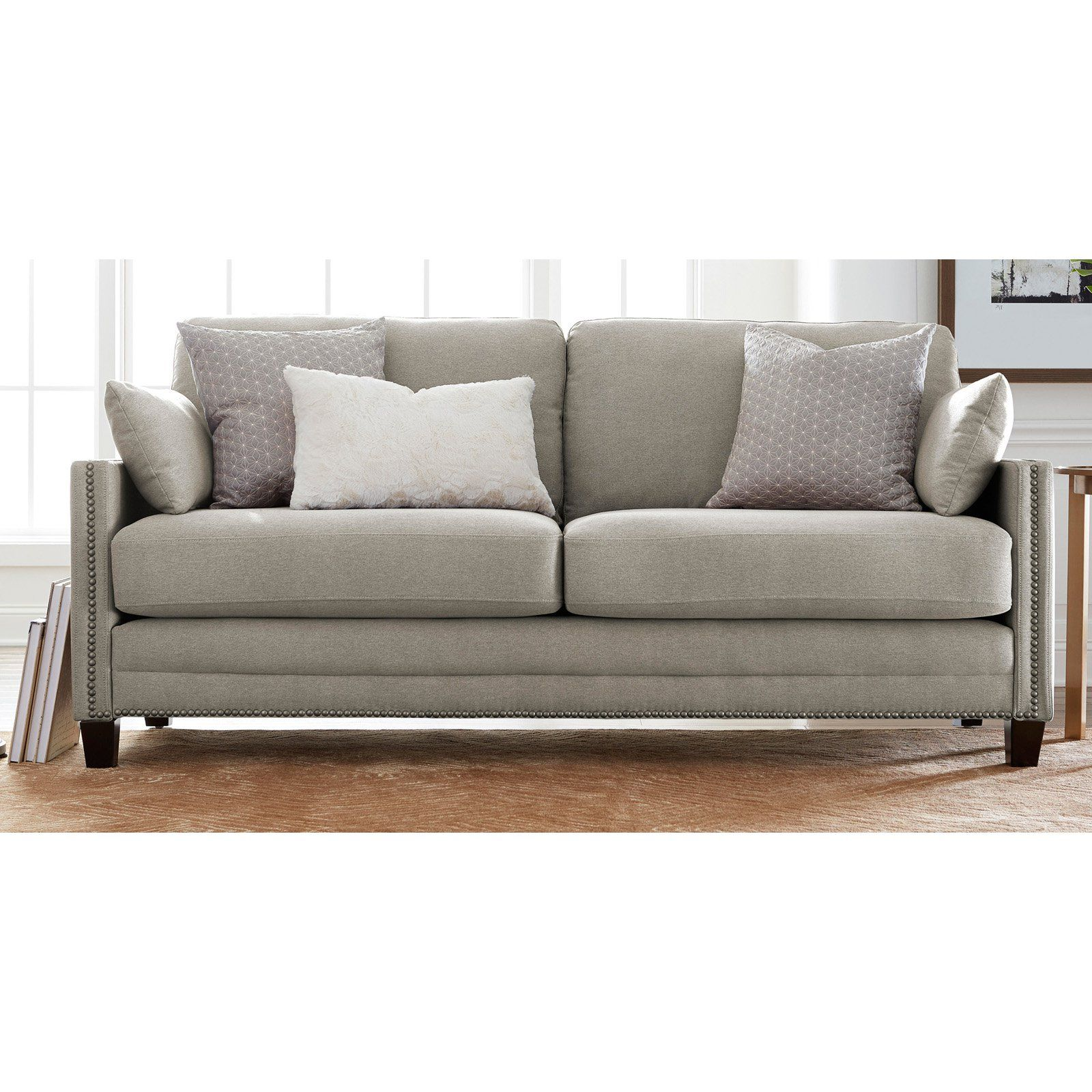 Best Elle Decor Bella Sofa French Gray In 2020 Elle Decor 640 x 480