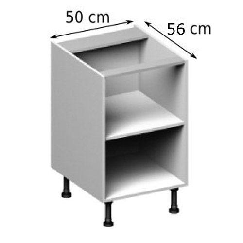 Magnifique Meuble Bas De Cuisine Largeur Cm Décoration - Meuble cuisine largeur 50 cm pour idees de deco de cuisine