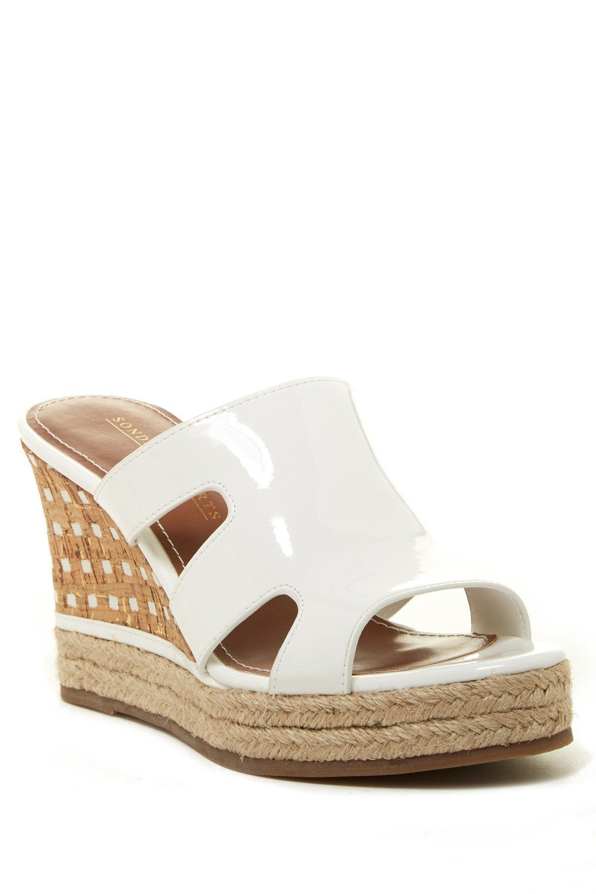 1b13ad53f11 Angie Wedge Sandal | muzaffer sindel | Wedge sandals, Wedges, Shoes