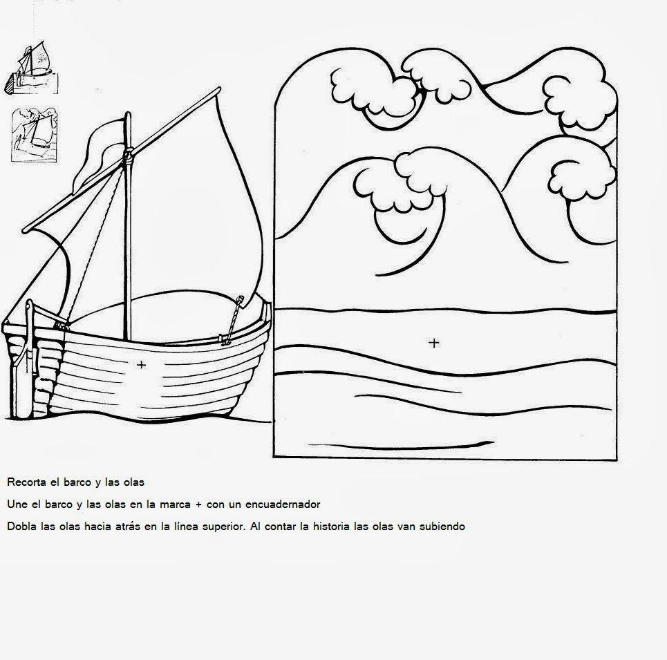 Actividad con mar | Kids | Pinterest | Biblia para niños, La biblia ...