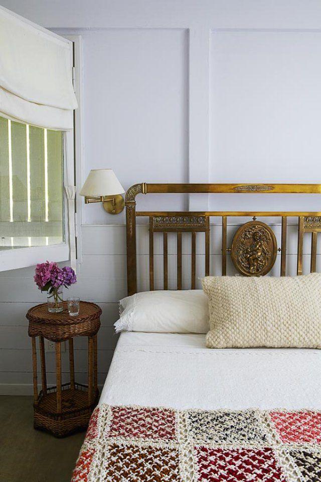 Chambre exotique minimaliste