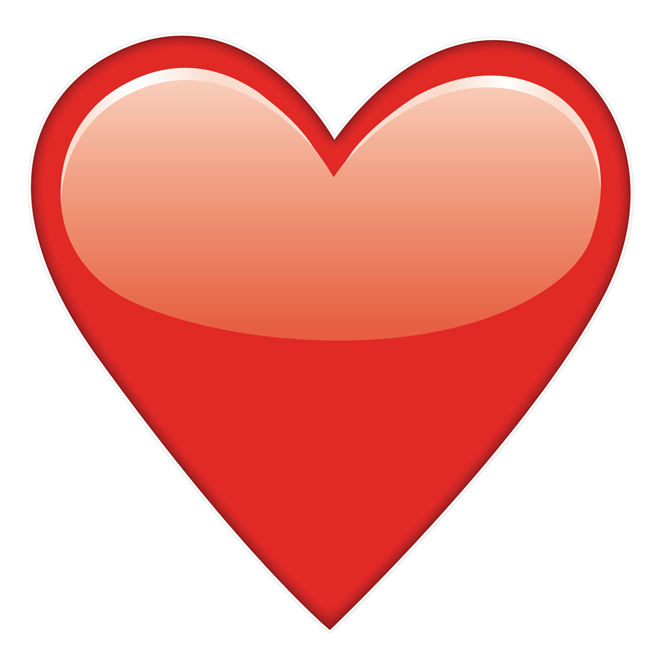 The Heart Emoji Was The Most Used 'Word' On Social Media ...  The Heart Emoji...
