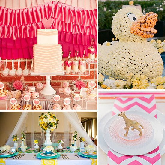 Not Your Typical Baby Shower Themes And We Love It Couture Meets