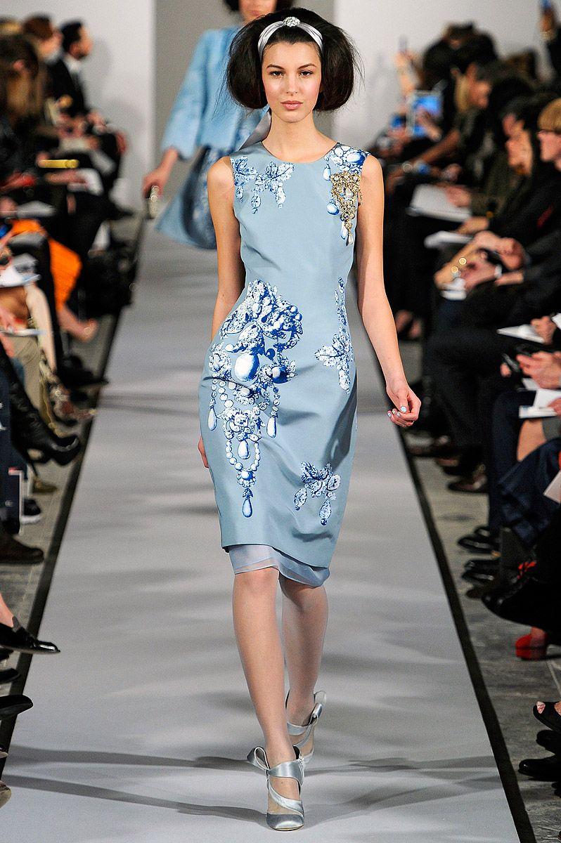 Oscar de la Renta Fall 2012 — Runway Photo Gallery — Vogue ...