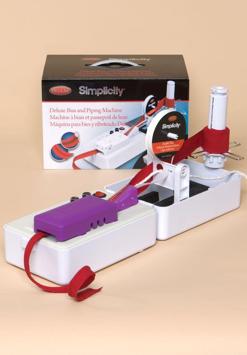 Projects /& Tips Simplicity Crafting Designed for the Deluxe Rotary Cutter//Embosser /& the Deluxe Bias//Piping Machines