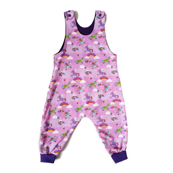 Check out this item in my Etsy shop https://www.etsy.com/uk/listing/400604097/girls-rainbow-and-unicorn-dungarees