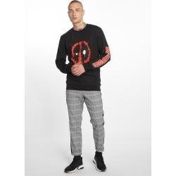 Photo of Merchcode Pullover Männer Deadpool Splatter in schwarz Merchcode