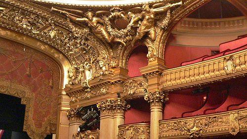 Details Of Ceiling Decorations Paris Opera House Pinterest