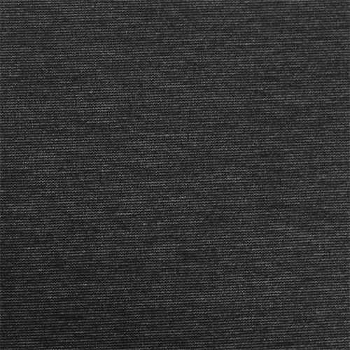 Heather Charcoal Solid Ponte De Roma Fabric A Gray Color Knit Is Thicker Medium Weight And