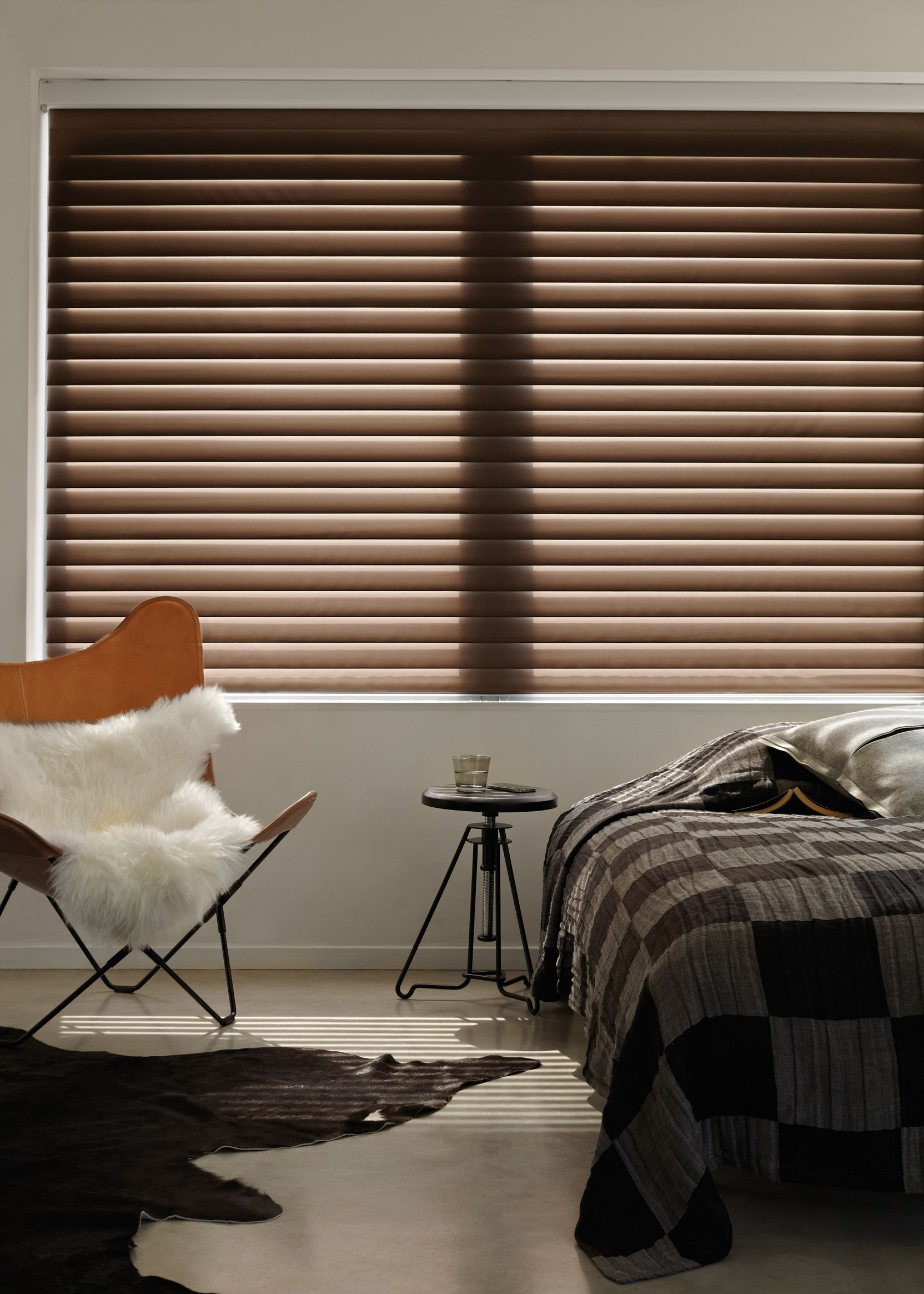 Luxaflex wood blinds beautiful natural wood tones to complement