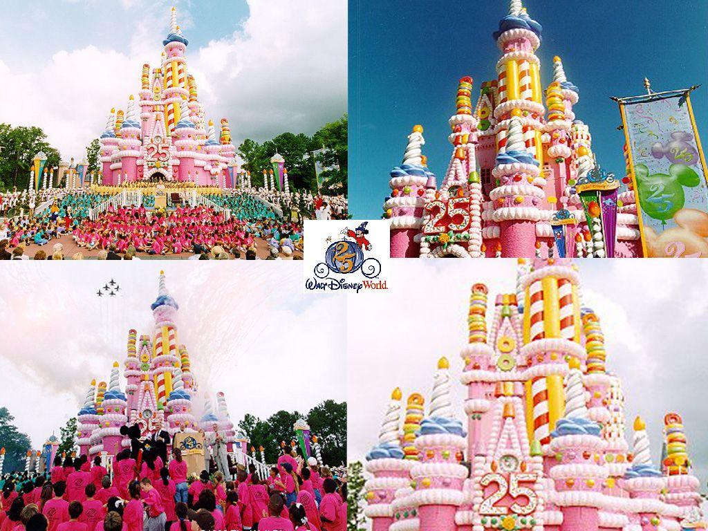 Enjoyable The Cinderella Castle Birthday Cake For Walt Disney World Magic Funny Birthday Cards Online Fluifree Goldxyz