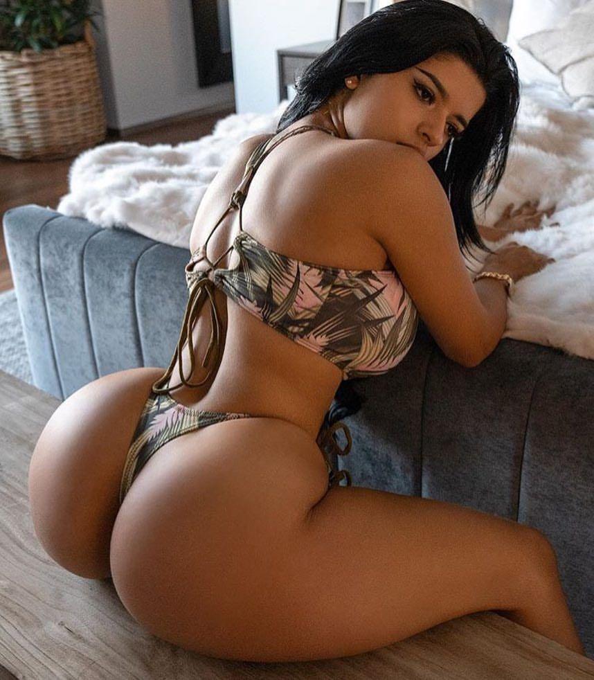 Amateur ebony booty
