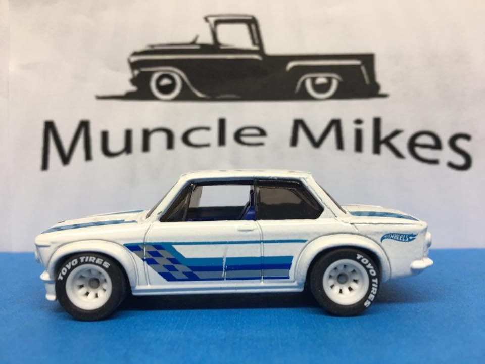 Hot Wheels Bmw 2002 Rubber Tires Real Rider Style Bmw 2002 Hot