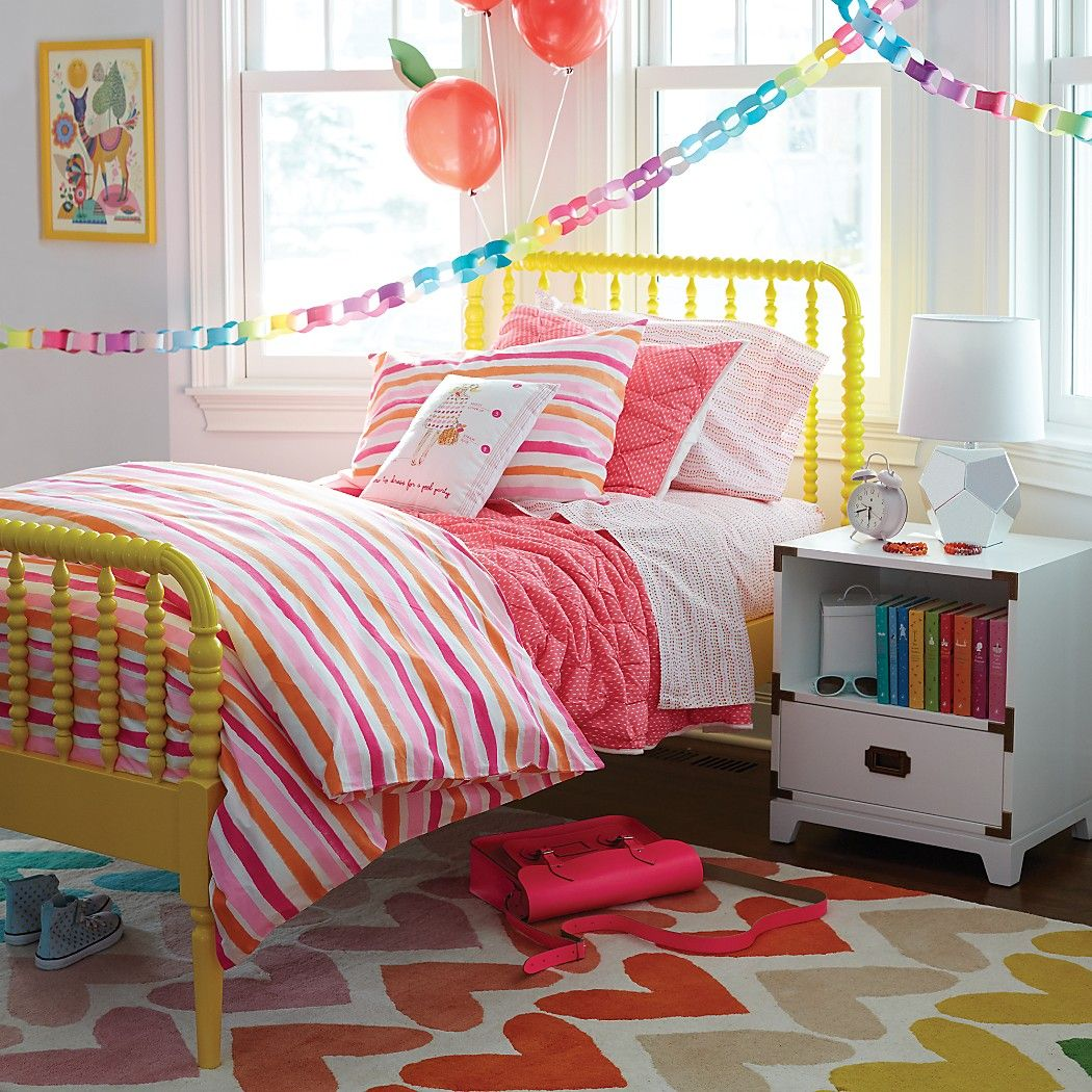 Fashionista Girls Bedding Duvet Cover The Land of Nod
