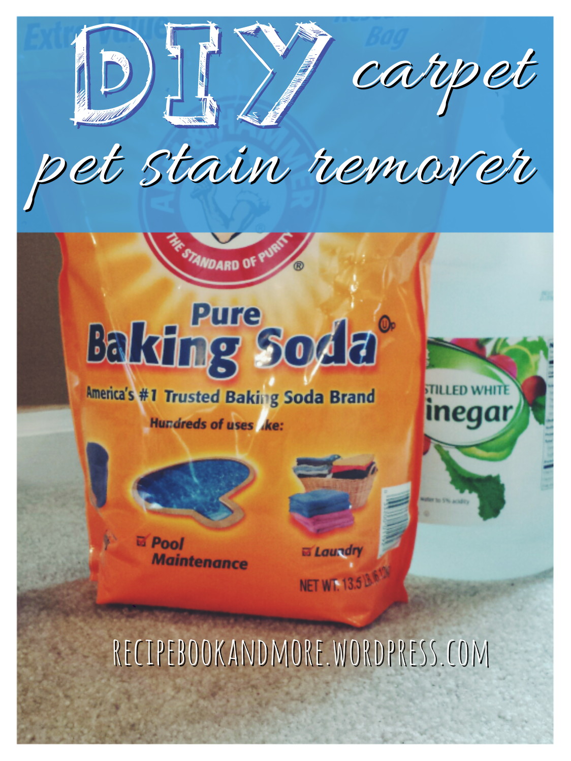 Here S An All Natural Recipe To Remove Pet Stains From Carpet It Just 2 Ings That You Already Have Baking Soda And Vinegar