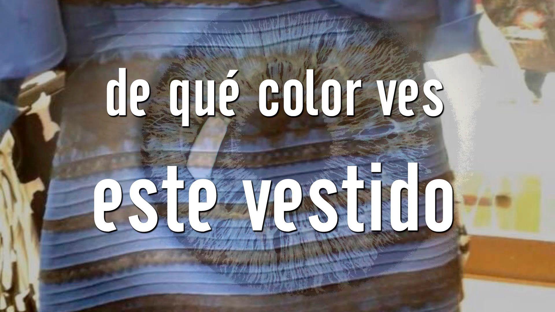 De Que Color Ves Este Vestido Vestido Thedress De